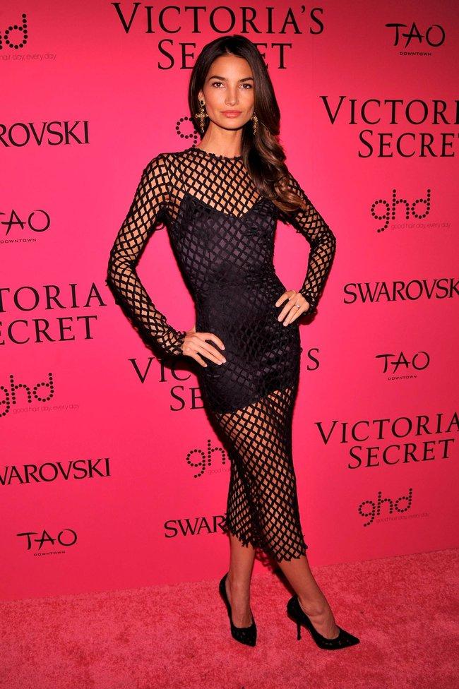 Афтепати модного показа «Victoria's Secret»: модели и гости: lily-aldridge_Starbeat.ru