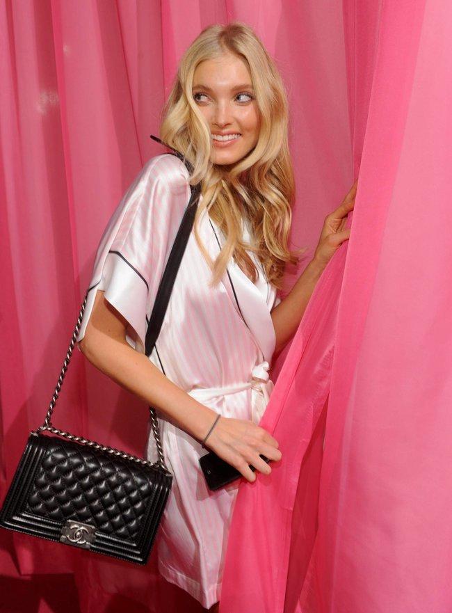 Бэкстейдж шоу «Victoria's Secret» в Нью-Йорке: все модели: elsa-hosk-2_Starbeat.ru