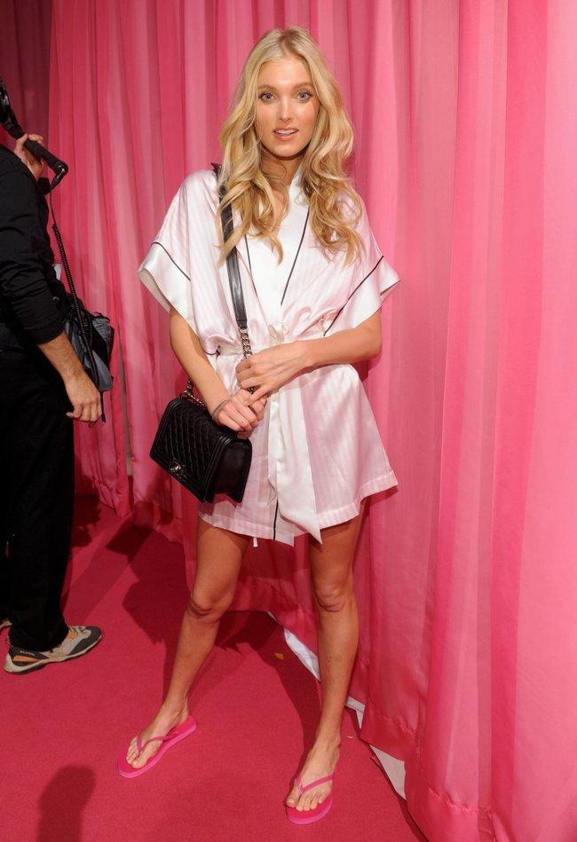 Бэкстейдж шоу «Victoria's Secret» в Нью-Йорке: все модели: elsa-hosk-4_Starbeat.ru