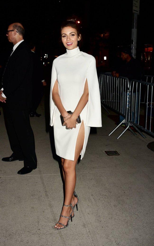 Неизвестная нужда заставила Викторию Джастис пойти на афтепати «DKC / O&Ms Tony Awards»: victoria-justice-6-1_Starbeat.ru