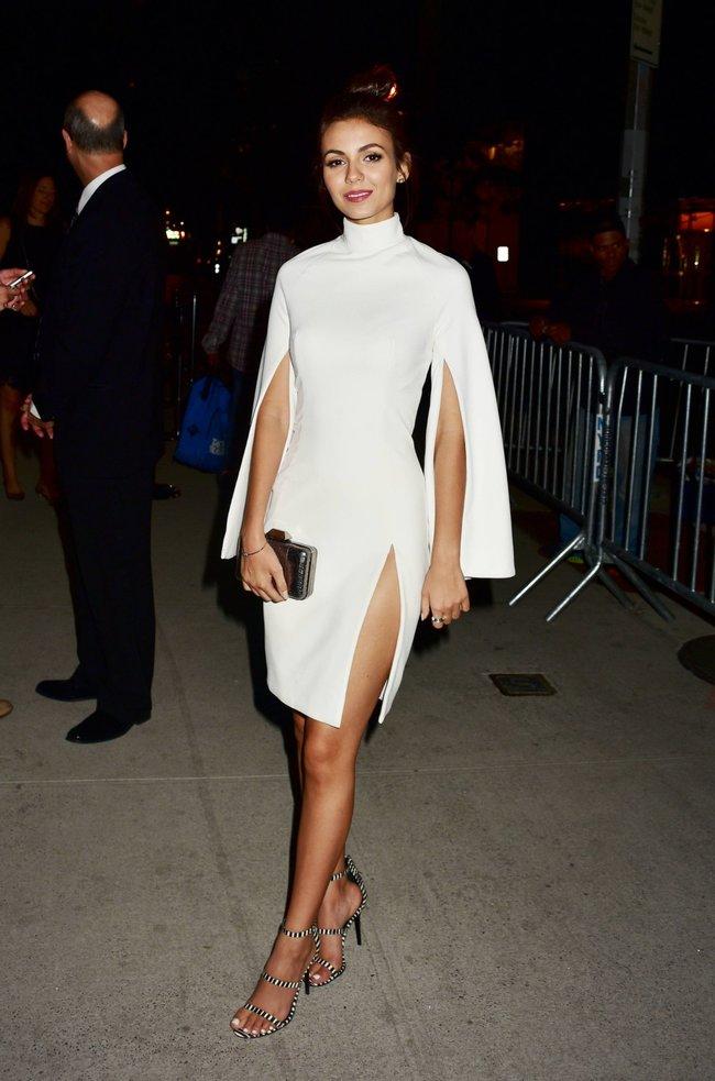 Неизвестная нужда заставила Викторию Джастис пойти на афтепати «DKC / O&Ms Tony Awards»: victoria-justice-9-1_Starbeat.ru