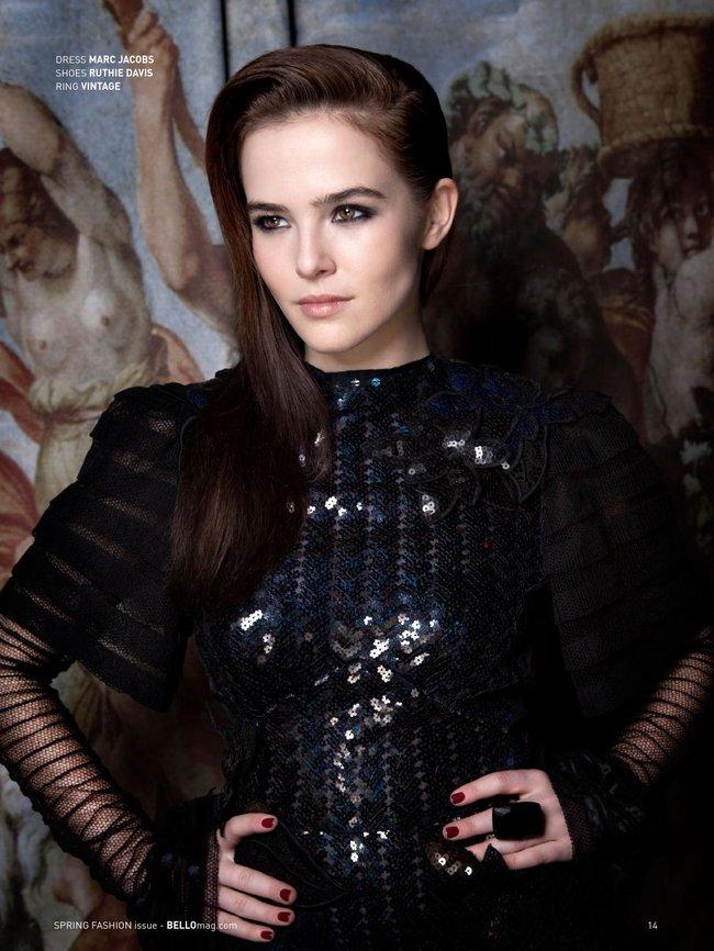 Зои Дойч: юная актриса на обложке мартовского «Bello Magazine»: zoey-deutch-bello-magazine--04_Starbeat.ru