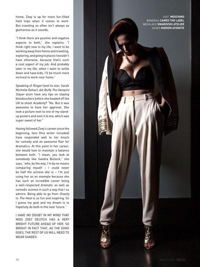 Зои Дойч: юная актриса на обложке мартовского «Bello Magazine»: zoey-deutch-bello-magazine--09_Starbeat.ru
