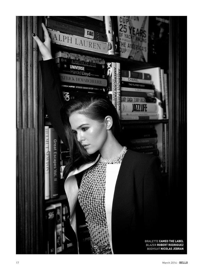 Зои Дойч: юная актриса на обложке мартовского «Bello Magazine»: zoey-deutch-bello-magazine--16_Starbeat.ru