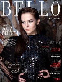 Зои Дойч: юная актриса на обложке мартовского «Bello Magazine»: zoey-deutch-bello-magazine--06_Starbeat.ru