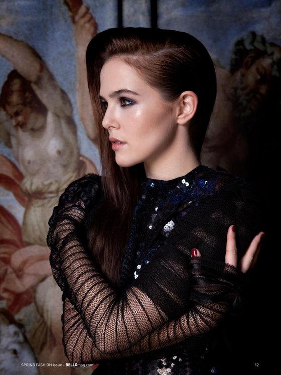 Зои Дойч: юная актриса на обложке мартовского «Bello Magazine»: zoey-deutch-bello-magazine--01_Starbeat.ru