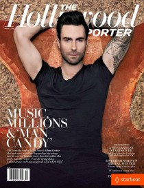 Обзор весенних обложек в глянце: Adam-Levine-Covers-The-Hollywood-Reporter-210x273