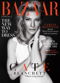 Обзор весеннего глянца 2013, часть 2 из 3: Cate-Blanchett-by-Steven-Chee-for-Harper's-Bazaar-Australia-May-2013-210x290