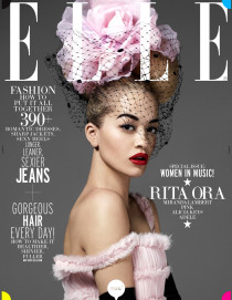 Обзор глянцевых журналов весны 2013, часть 2 из 3: Adele-Rita-Ora-Alicia-Keys-by-Thomas-Whiteside-for-Elle-US-May-20132-210x271