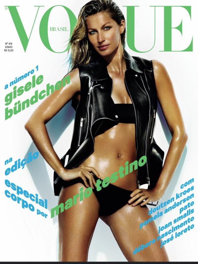 Обзор летних обложек глянцевых журналов 2013: gisele-bundchen-1_Starbeat.ru-june-650x866