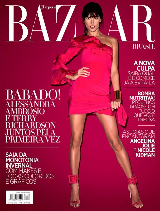 Обзор летних обложек глянцевых журналов 2013: june-1_Alessandra-Ambrosio-650x857